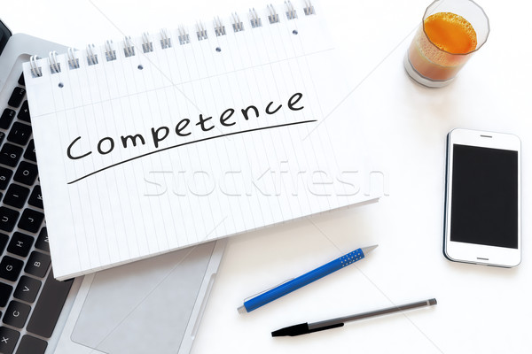 Stock photo: Competence