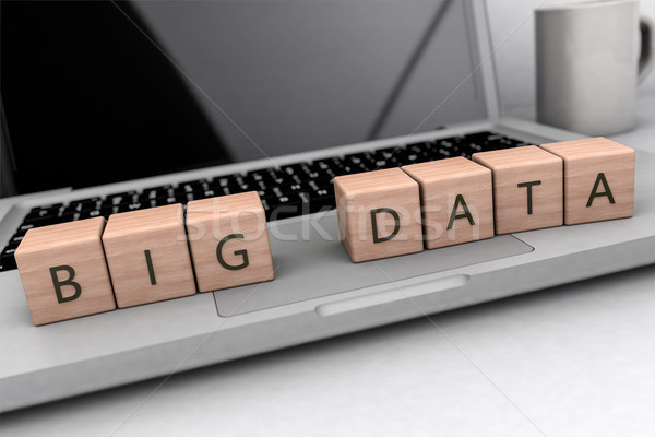 Big Data text concept Stock photo © Mazirama