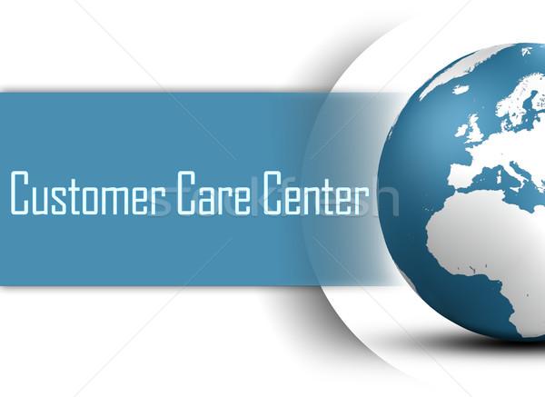 センター 世界中 白 インターネット 背景 ストックフォト © Mazirama