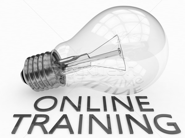 Online Training Stock photo © Mazirama