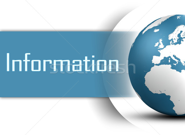 информации мира белый бизнеса технологий контакт Сток-фото © Mazirama