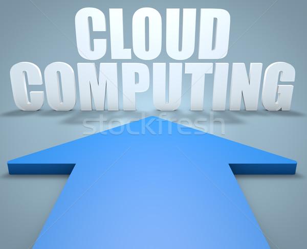 Cloud Computing Stock photo © Mazirama