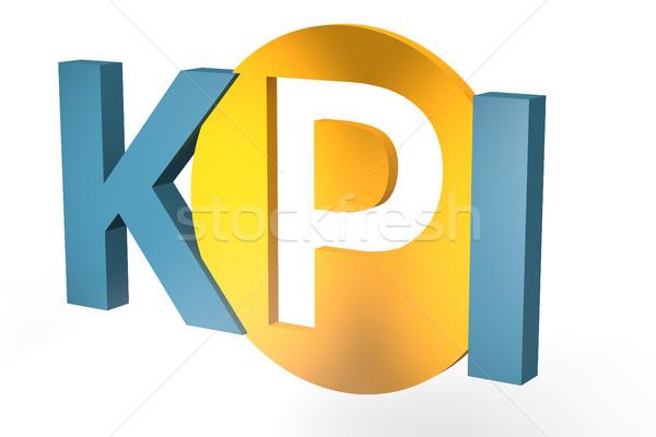 キー パフォーマンス インジケータ 頭字語 3dのレンダリング 実例 ストックフォト © Mazirama
