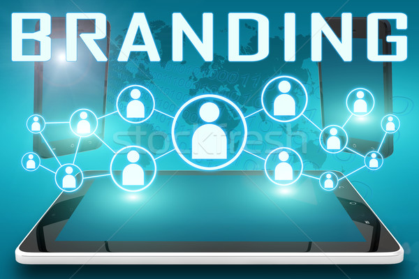 Branding Stock photo © Mazirama