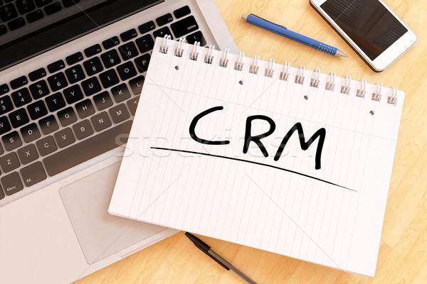 Customer Relationship Management Stock photo © Mazirama