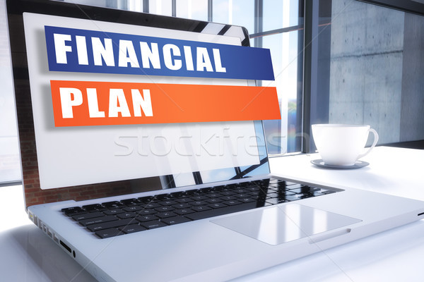 Financial Plan Stock photo © Mazirama