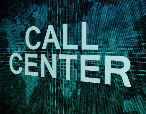 Call Center Stock photo © Mazirama