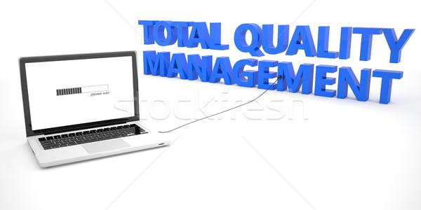 качество управления ноутбука ноутбук компьютер слово Сток-фото © Mazirama
