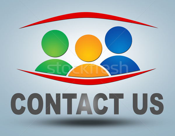 Contact us Stock photo © Mazirama