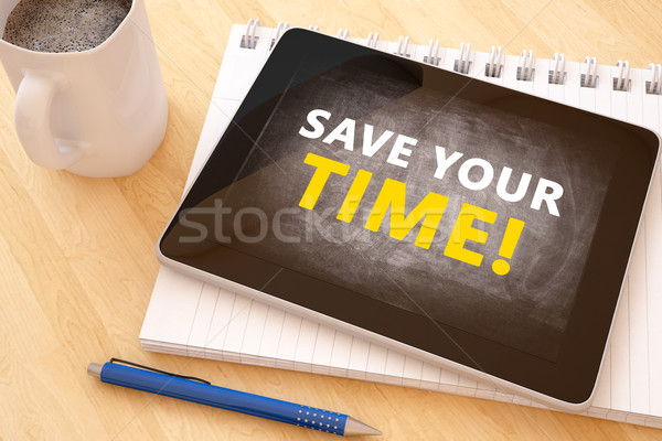 Save your time Stock photo © Mazirama