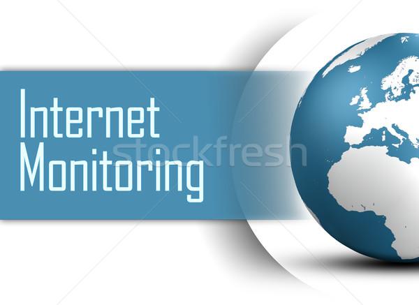 Internet Monitoring Stock photo © Mazirama