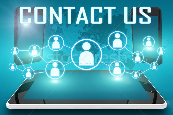 Contact us Stock photo © Mazirama