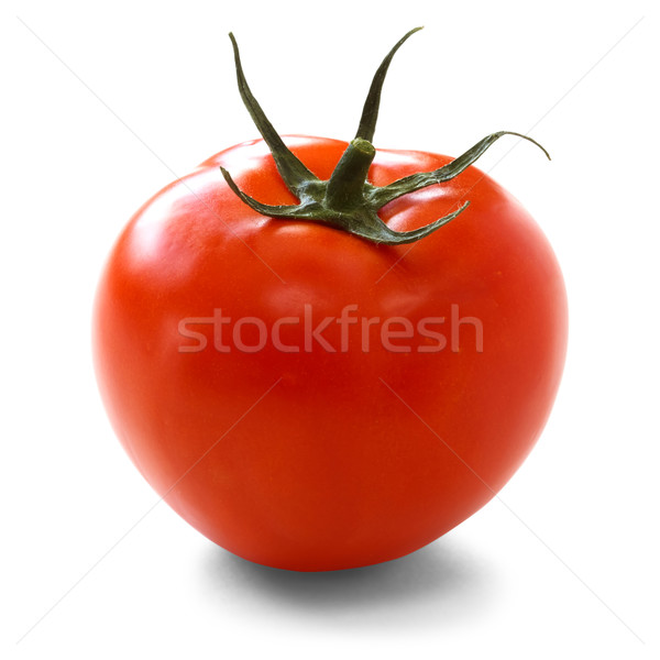 Photo stock: Tomate · blanche · alimentaire · vert · légumes · fraîches
