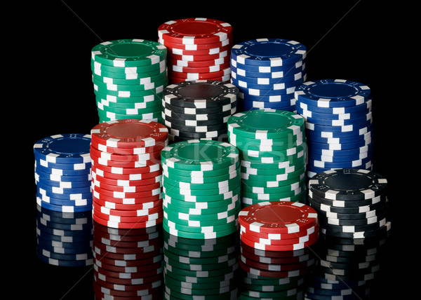 Noir amusement Finance couleur poker Photo stock © mblach