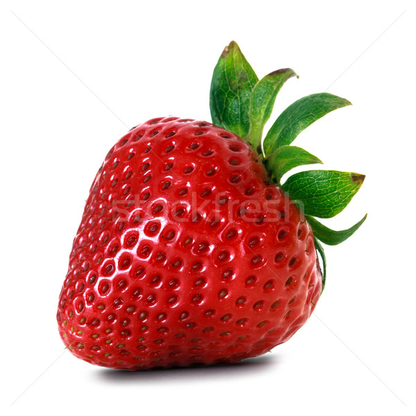 red strawberry Stock photo © mblach
