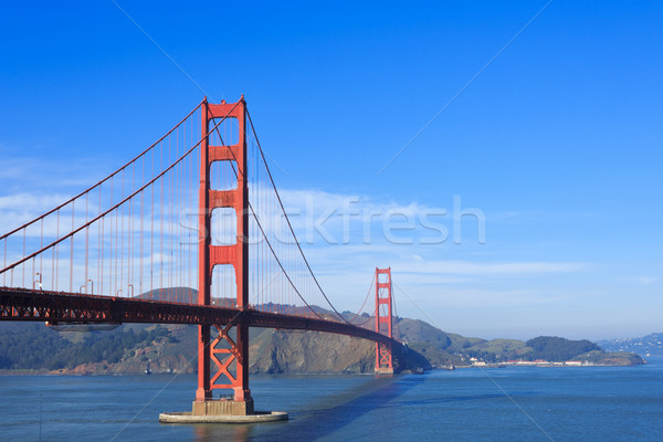 Golden Gate Bridge San Francisco cielo océano viaje cable Foto stock © mblach