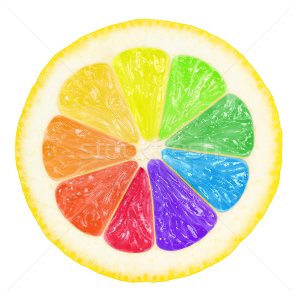 colorful lemon Stock photo © mblach
