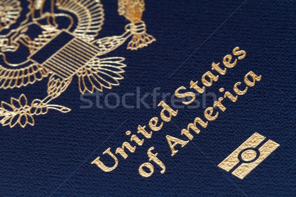 us passport Stock photo © mblach