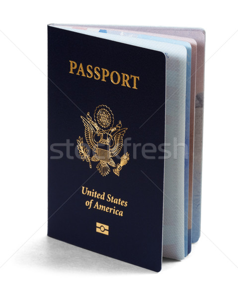 us passport Stock photo © mblach