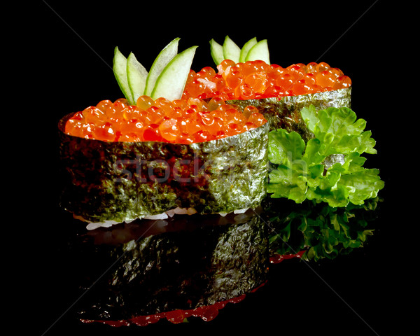 caviar sushi Stock photo © mblach