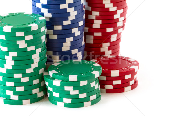 poker chips Stock photo © mblach