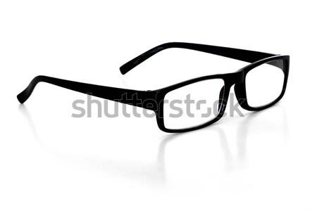 очки для чтения белый глаза дизайна контакт пластиковых Сток-фото © mblach
