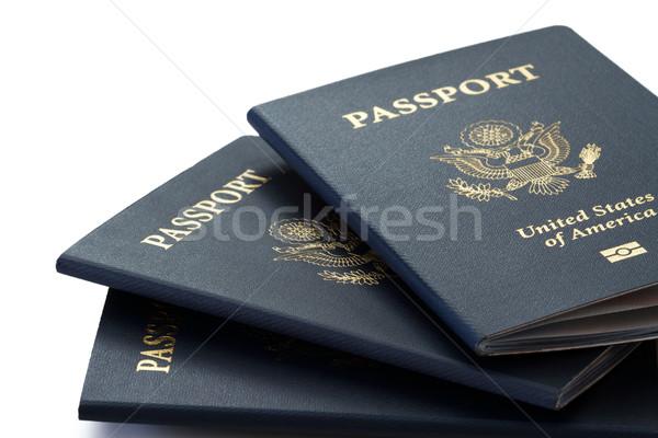 us passports Stock photo © mblach