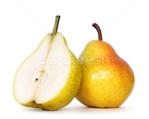 Poire blanche alimentaire fruits chemin Photo stock © mblach