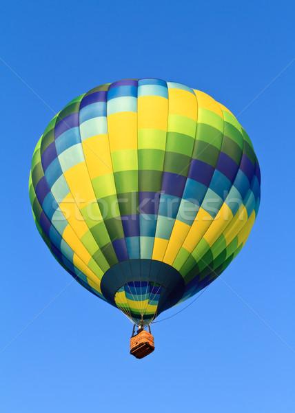 горячей воздуха шаров синий небе спорт Сток-фото © mblach