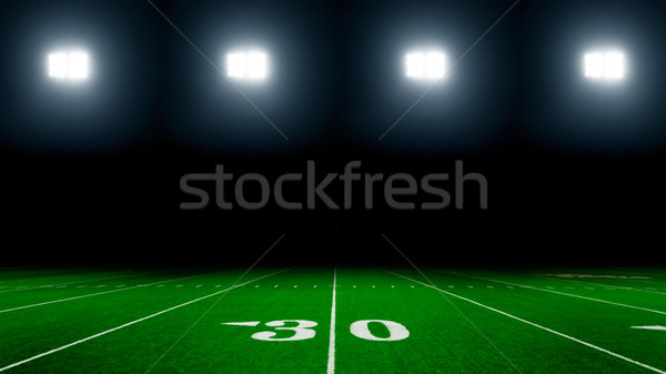 Football field Stock photo © mblach
