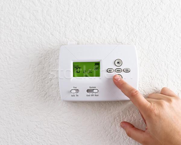 digital thermostat Stock photo © mblach