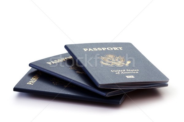us passports Stock photo © mblach