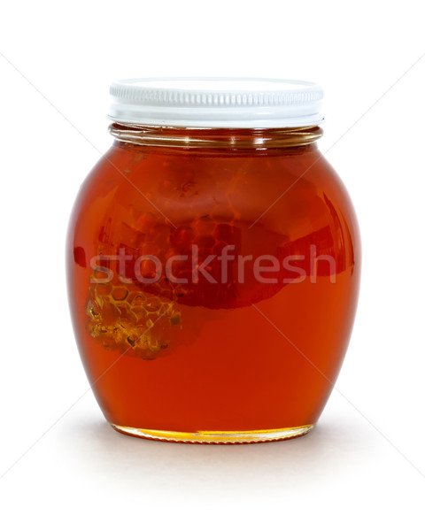 jar of honey Stock photo © mblach