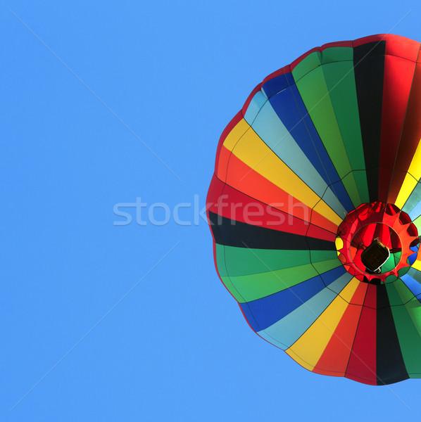 熱気球 カラフル 青空 夏 楽しい 色 ストックフォト © mblach
