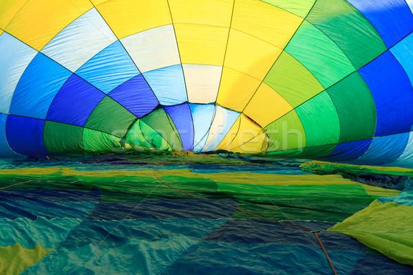 Luchtballon sport achtergrond vliegen hot ballon Stockfoto © mblach