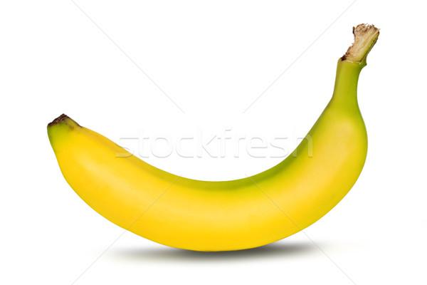 Banaan witte voedsel ontbijt eten drop Stockfoto © mblach