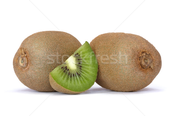 Kiwi blanche texture alimentaire fruits vert Photo stock © mblach