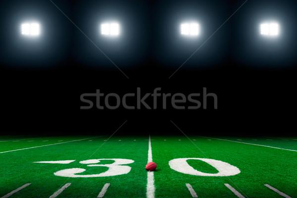 Football field Stock photo © mblach