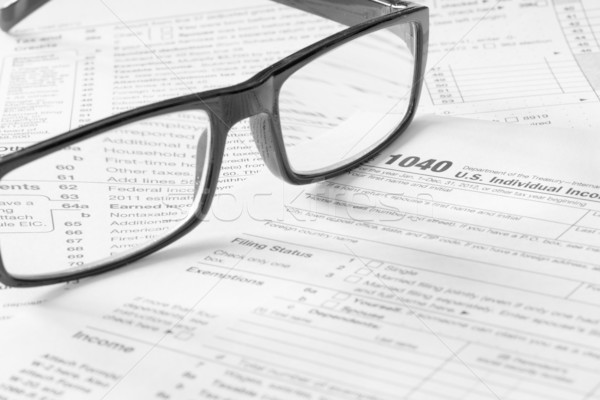 tax form Stock photo © mblach