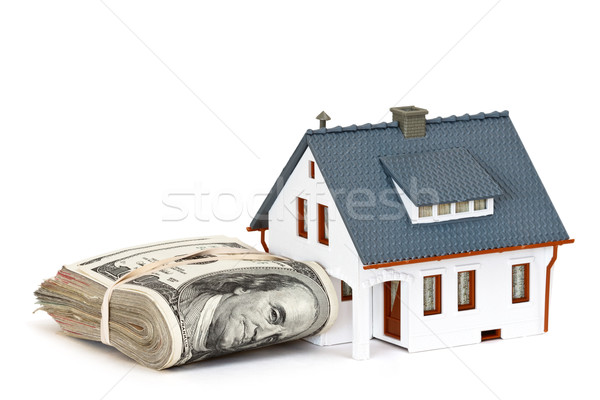 house and money Stock photo © mblach