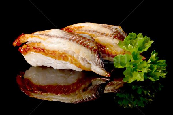 nigiri sushi Stock photo © mblach