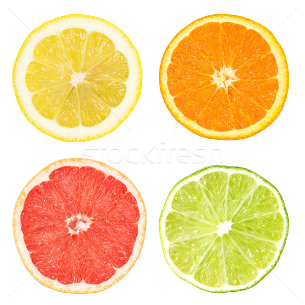 Stock photo: citrus slices
