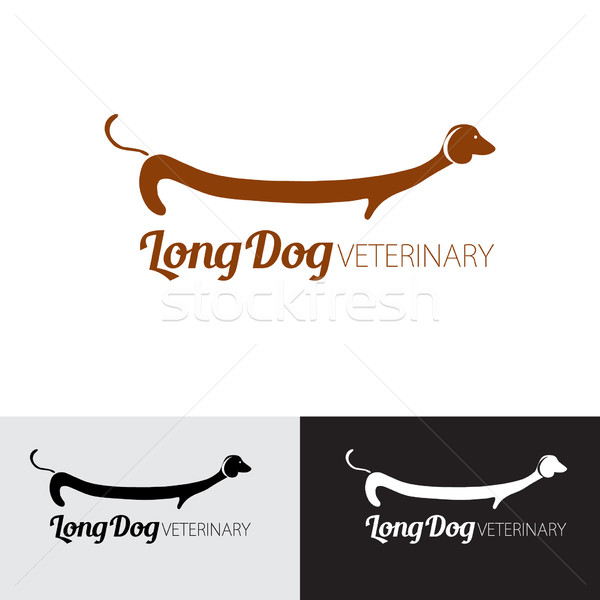 Illustration for pets shop, animal clinic or veterinary. Stock photo © mcherevan