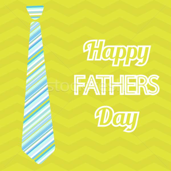 Boldog apák napját vektor kártya borospoharak végtelenített minta Stock fotó © mcherevan