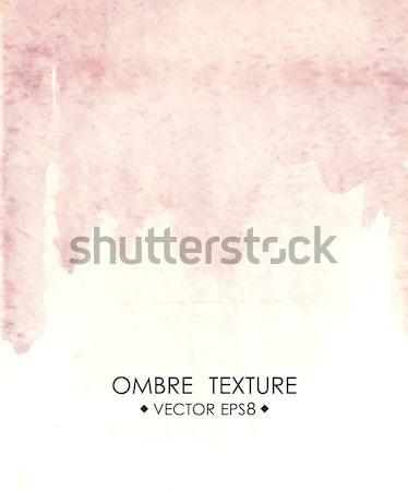 акварель розовый рисованной текстуры окрашенный голубой Сток-фото © mcherevan