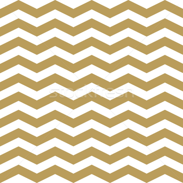 Geometric seamless pattern with gold and black lines.  Stock photo © mcherevan