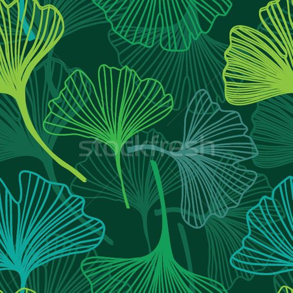 シームレス 装飾的な 花 自然 美 秋 ストックフォト © mcherevan