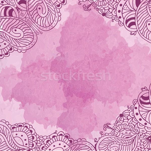 Abstract bloemen bloem Stockfoto © mcherevan