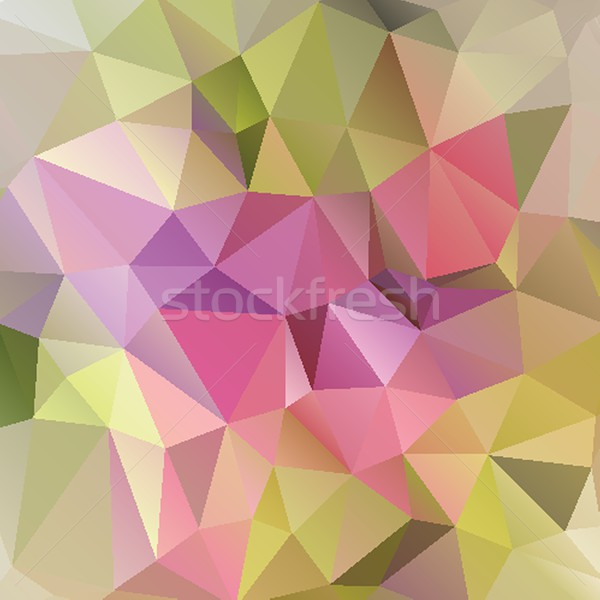 Bright rainbow vector background from mosaic triangles. Good for web, website and more. Stock photo © mcherevan