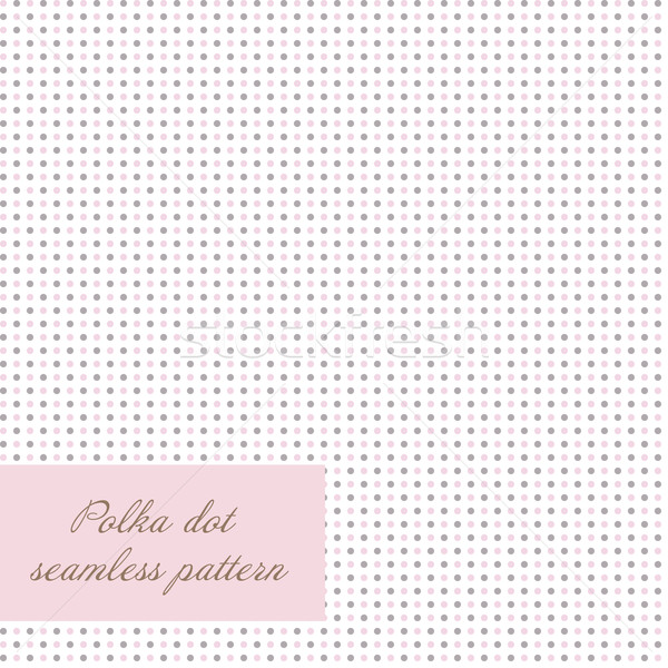 seamless polka dot background Stock photo © mcherevan